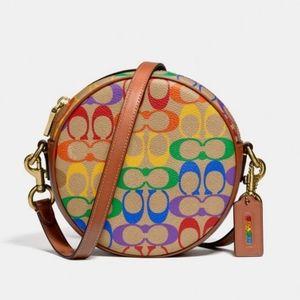 Rare Coach Pride Circle bag 🌈🏳️🌈